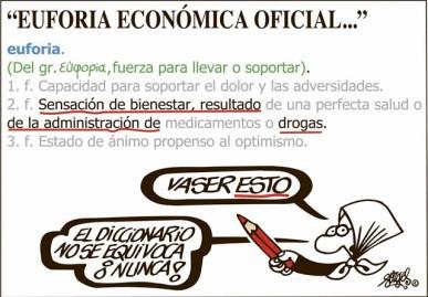 Definición de Euforia Económica oficial