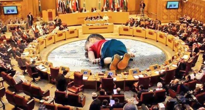 Aylan en el parlamento