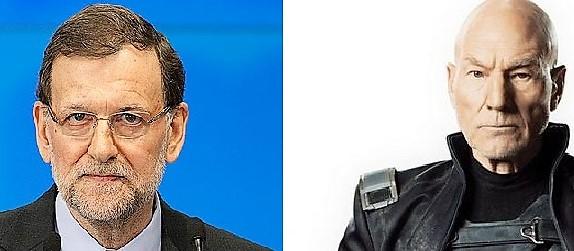 Parecidos razonables: Rajoy es el profesor Xavier