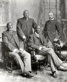 Tres jefes Botsuana