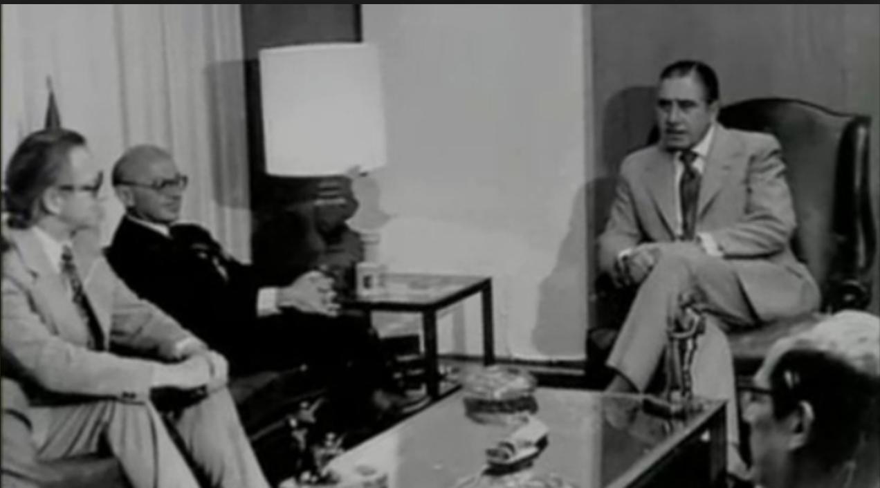 Resultado de imagen de milton friedman con pinochet 1975