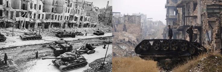 Aleppo 2016 - Berlín 1945