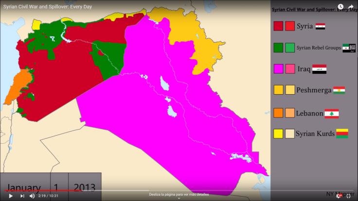 Mapa guerra Siria ENE13