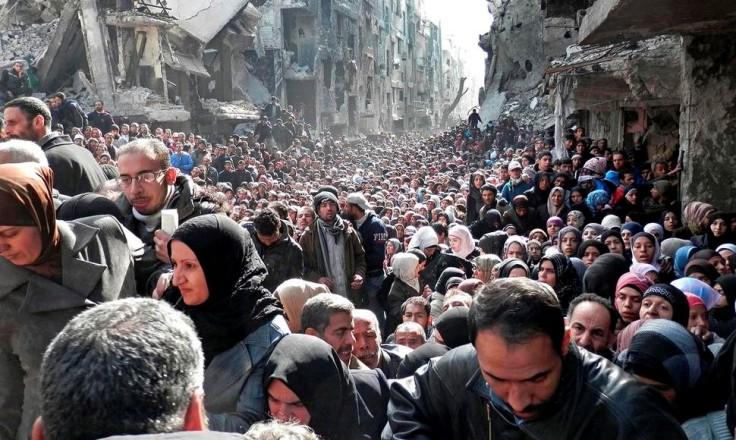 Refugiados Palestinos en Siria