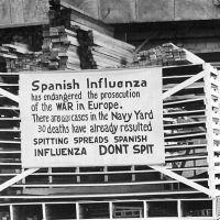 Tontás de la Historia: la gripe española que hablaba inglés con acento americano (audio)